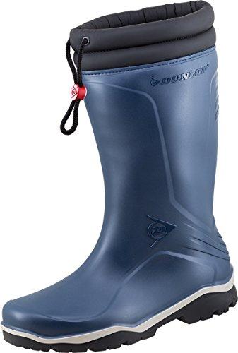 Dunlop - Botas de Caucho para hombre Azul azul