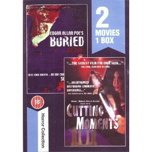 Edgar Allan Poe's Buried Alive / Cutting Moments (Region 0 PAL DVD import) Movie Double Bill -