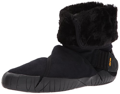 Vibram Sole Boots - Vibram Furoshiki Mid Boot Eastern Traveler Sneaker, Black, EU:46-47/UK MAN:11-12/cm:29.5-30.5/US MAN:12-13