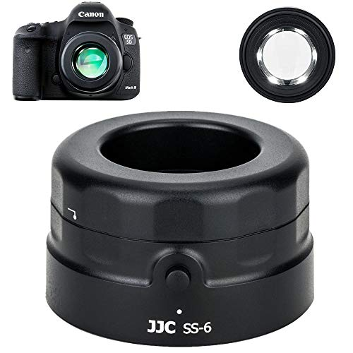JJC Sensor Magnifier Loupe Scope for DSLR Mirrorless Camera CCD CMOS Inspecting Cleaning, 7X Magnification / 6 Ultra-Bright LEDs/Dust Elimination Tool
