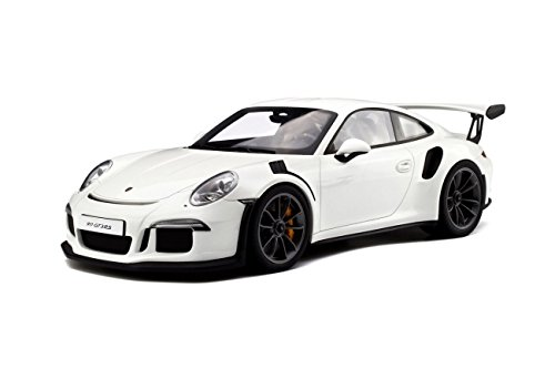 Porsche 911 Gt (2016 Porsche 911 (991) GT3 RS Resin Model Car in 1:18 Scale by GT Spirit)