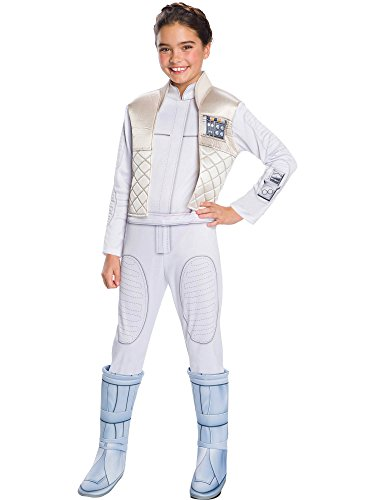 Rubie's Girls Star Wars: Forces of Destiny Deluxe Princess Leia Organa Costume, Small for $<!--$25.35-->