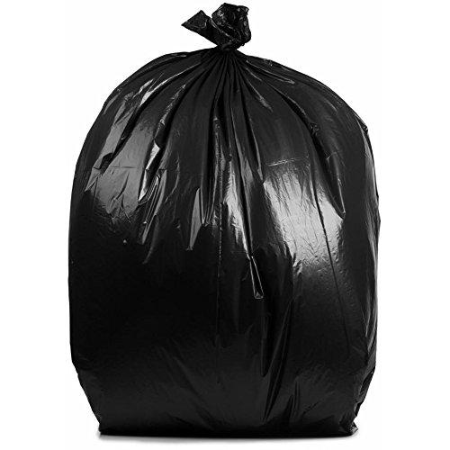 PlasticMill 50 – 60ガロンブラックGarbageバッグ、2.3 Mil、36 x 58,100 /ケース B074HDX2Z4