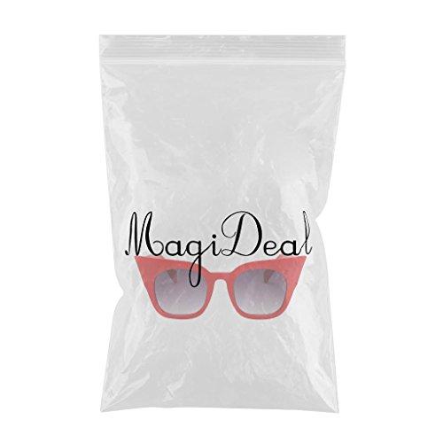 Gradiente gris de Marco Mujer Ojos Hombre lente UV400 rojo Gradiente Gafa Marco rojo Protección Plástico Magideal Sol Gato para Marco de gris lente Moda de tS7ZT