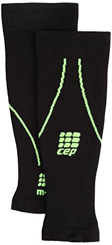CEP Herren Progressive+ Calf Sleeves 2.0 WS550 black/green 39-44cm