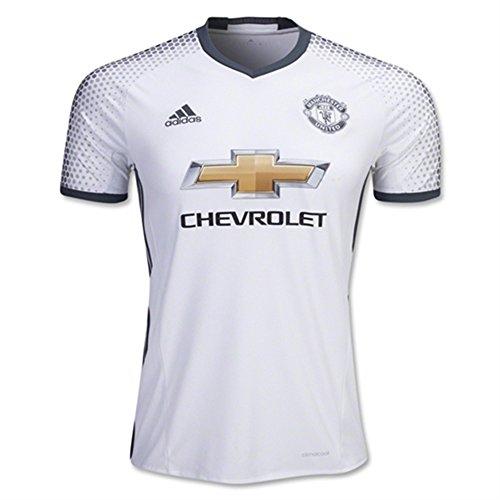 フック待つ転用adidas YOUTH Manchester United FC Third Soccer Jersey(White/Dark Onix)/サッカーユニフォーム マンチェスター?ユナイテッドFC THIRD用 ジュニア向け