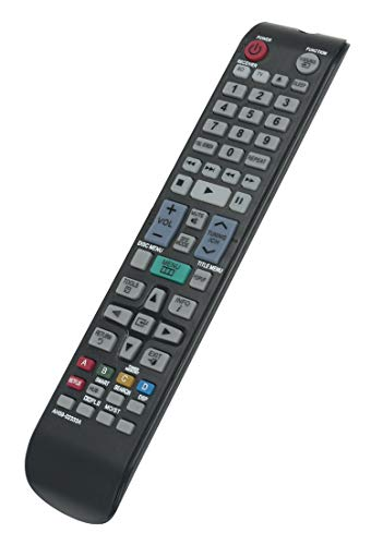 AH59-02333A Replaced Remote fit for Samsung Blu-ray DVD Home Theater System HT-D4500 HT-D5300 HT-D5130 HT-D5350