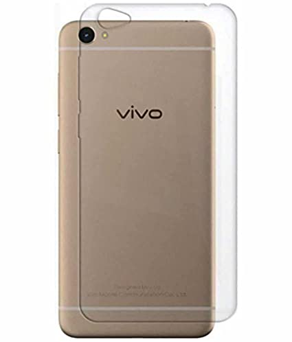 COVERNEW Back Cover for Vivo 1606/Y53(Transparent)