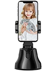 CamTrak Selfie Stick - 360° Auto Face Object Tracking Camera Tripod Holder Smart Shooting Cell Phone Camera Mount for iPhone and All Android Phones