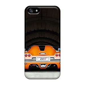For Iphone 5/5s Tpu Phone Case Cover(koenigsegg Ccr)