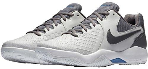 Vast Zoom Tennis Multicolore Uomo Grey Gunsmoke Air Resistance Scarpe Nike Tennisschuh B da 044 8YxwEqz81n