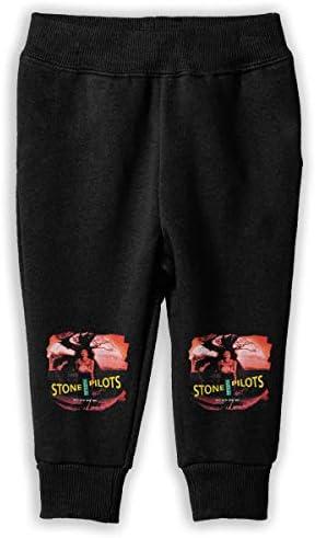 Stone Temple Pilots ロングパンツ スウェットパンツ ユニセックス 子供 日常 スクール カジュアル 吸水速乾 伸縮性 通気性 耐久性 春秋 肌触りよく ソフト 下着 入学式