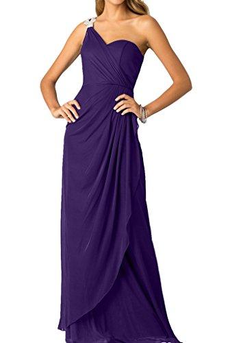 Violett mit Ballkleid Strass Damen Promkleid Ivydressing Abendkleid Schlter Festkleid Ein SwxvxzqtA