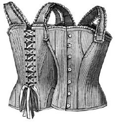 Amazon com: 1890 Corset Waist for Girl 12-14 Years Pattern