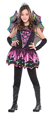 Christy's Girls Spider Fairy Costume (4-6 (Child Fairy Costume Uk)