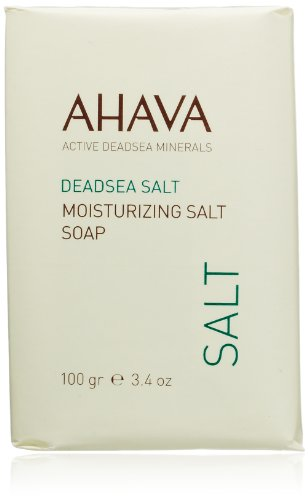 AHAVA Dead Sea Moisturizing Salt Soap, 3.4 oz