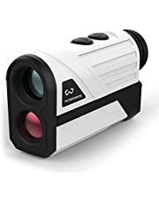 WOSPORTS Golf Rangefinder, 800 Yards Laser Distance Finder with Slope, Flag-Lock with Vibration Distance/Speed/Angle Measurement, Upgraded Battery Cover