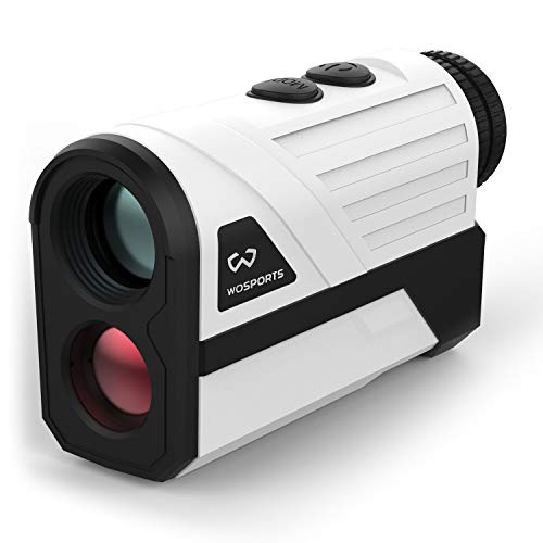 WOSPORTS Golf Rangefinder, 650 Yards Laser Distance Finder with Slope, Flag-Lock with Vibration...