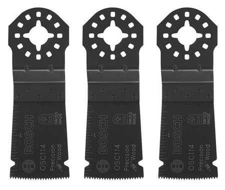 Bosch OSC114-3 1-1/4-Inch Multi-Tool Precision Plunge Cut Bl
