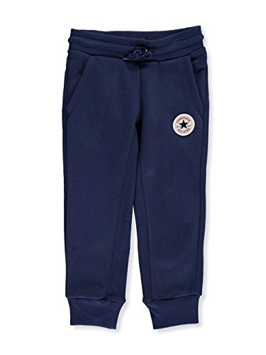 Converse Little Girls' Joggers (Sizes 4-6X) - Midnight Navy, 6X ()