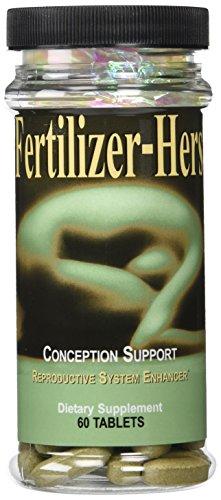 Maximum Intenational Fertilizer-Hers, 60 Tablets by Maximum International