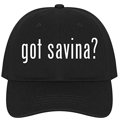 The Town Butler got Savina? - A Nice Comfortable Adjustable Dad Hat Cap, Black, One Size ()