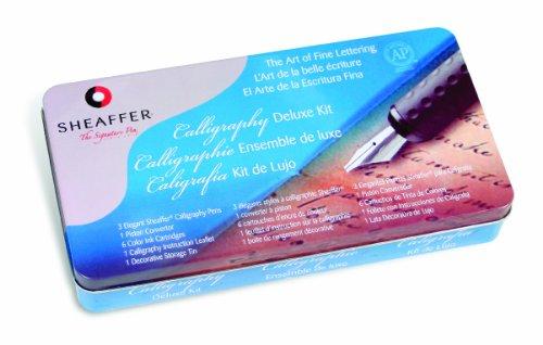 Sheaffer-Calligraphy-Deluxe-Tin-Kit-SH10033