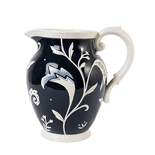 Pitcher Earthenware (Bristol Collection, Pitcher, Royal Blue/White)