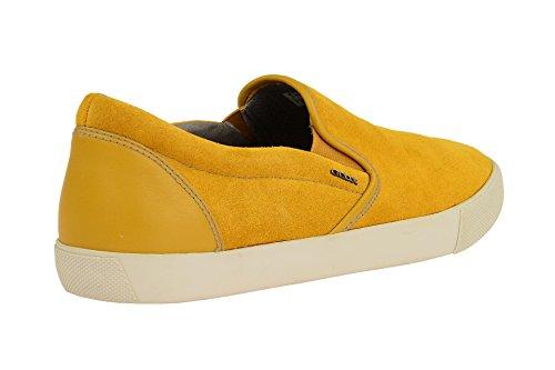 Geox U Smart a, Zapatillas para Hombre amarillo