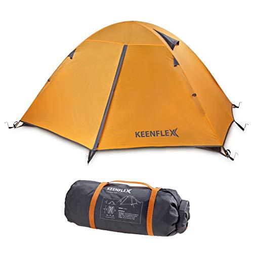 🥇 KeenFlex Tienda de campaña para 2 Personas de Doble Capa Ultraligera
