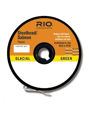 Rio Fly Fishing Tippet Salmon/Steelhead Tippet 30yd 16Lb Fishing Tackle, Glacial Green