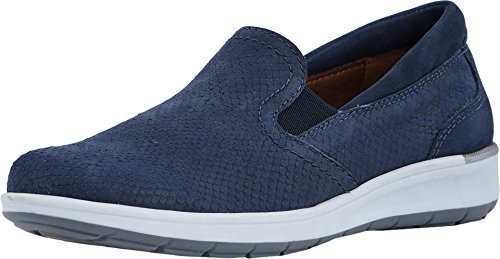 Walking Cradles Women's Orleans Navy Matte Snake Print/Nubuck 10 D US from Walking Cradles
