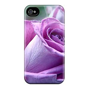 Anti-scratch And Shatterproof Purple Roses Nature Phone Cases For Iphone 6/ High Quality Cases