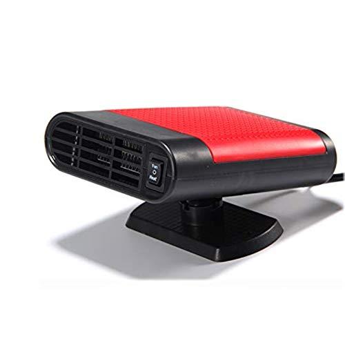 ZuoLan 12V 150W Multifunktions Auto Heizungen Tragbare Auto Innen Fan Luftreinigungsapparat Entfeuchtung (Rot)