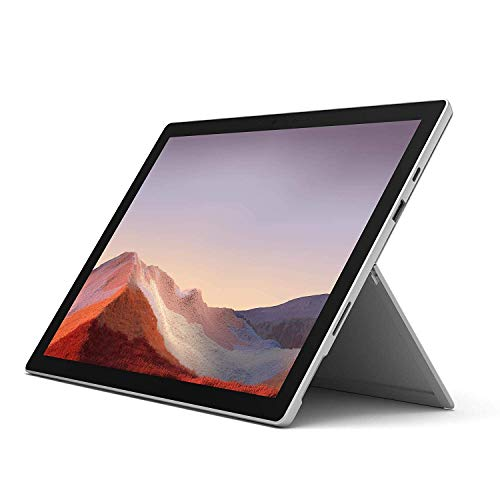 "NEW Microsoft Surface Pro 7 – 12.3"" Touch-Screen - Intel Core i5 - 8GB Memory - 128GB Solid State Drive (Latest Model) – Platinum (Renewed)"