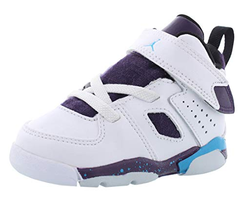Nike Jordan Fltclb '91 (td) Toddler 555330-105 White/Purple/Blue, Size 9