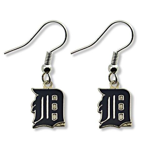 MLB Detroit Tigers Logo Dangler Earrings -