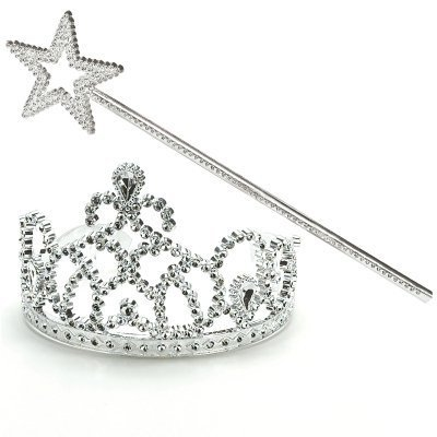 Costume National 787793900075 Costumes 162886 Princess Tiara & Wand Set - http://coolthings.us