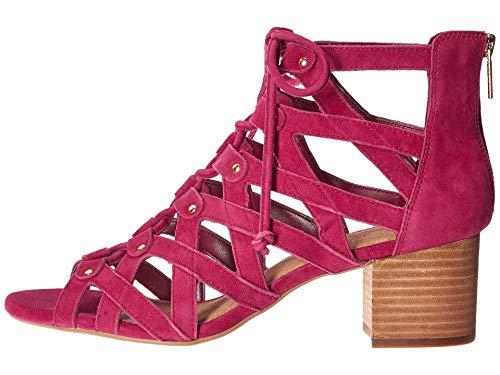 Aerosoles Women's Middle Ground Dress Sandal, DK Pink Suede, 5 M - Aerosoles Sandals Pink