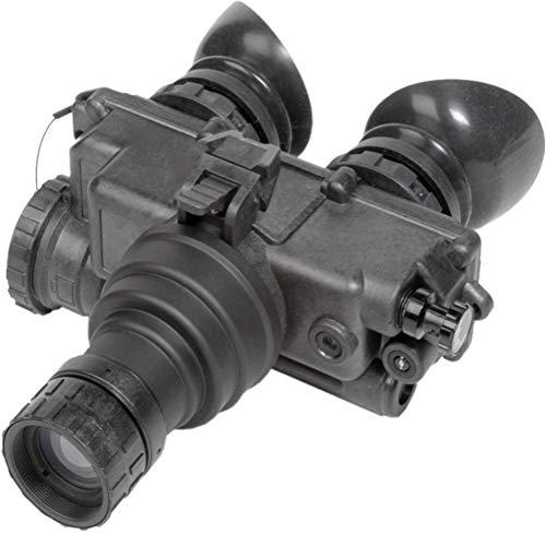 "PRG Defense 12PV7123253011 Model PVS-7 3NL1 Night Vision Goggles Gen 3+""Level 1"", 1x Magnification, 27 mm Lens System, 40° FOV, 0.2m to Infinity Focus Range, Diopter Adjustment -6 to +2 dpt"