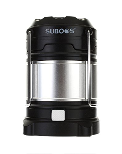 SUBOOS Ultimate Rechargeable LED Camping Lantern and 5200mAh Power Bank -...