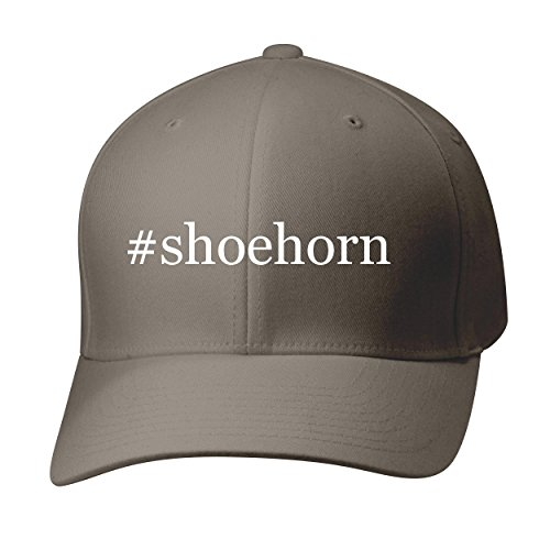 BH Cool Designs #Shoehorn - Baseball Hat Cap Adult, Dark Grey, Small/Medium