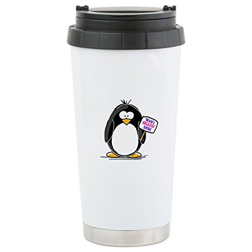CafePress Greatest Penguin Stainless Insulated