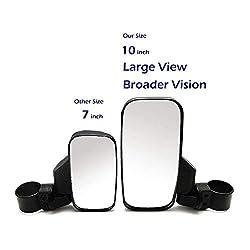 UTV Offroad Broader Rear View Side Mirror, ISSYZON