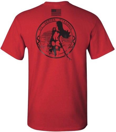 Modern Tyrants T Shirt   Red   2X