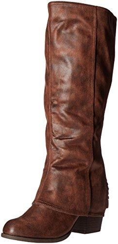 Fergalicious Women's Lundry Wc Western Boot, Cognac, 6 M US (For Fergie Boots Women)