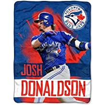 MLB Toronto Blue Jays Josh Donaldson Player Micro Throw Blanket