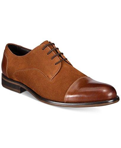 Alfani Mens Avery Suede Cap Toe Oxfords Medium Brown 11 M (Shoes Alfani Mens)