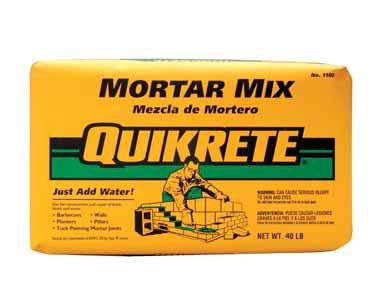 quikrete mix - 6