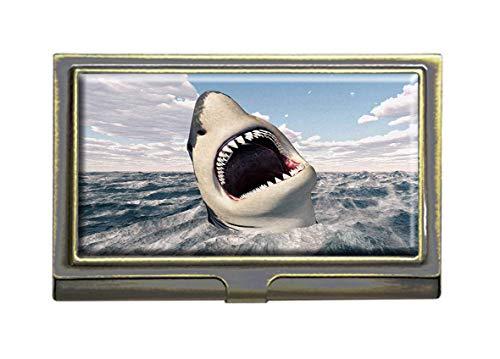 business card holder shark - 3